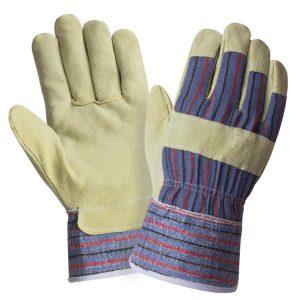 спилковые комбинированные перчатки ангара