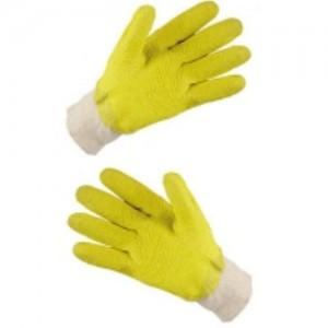 перчатки для работы со стеклом полный облив