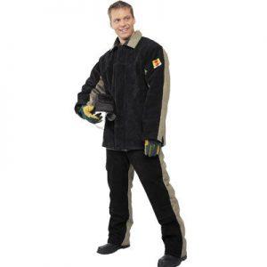 костюм брезентовый со спилком для сварщиков