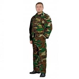 Костюм охранника Святогор зеленый камуфляж