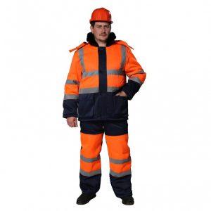 костюм дорожника зимний
