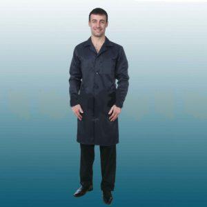Халат мужской рабочий из смесовой ткани