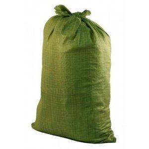 Мешок полипропиленовый зеленый 50/90